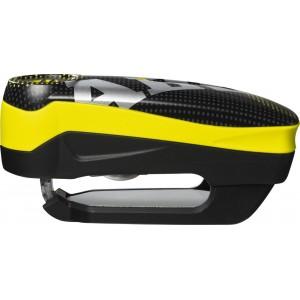 Κλειδαριά δισκόφρενου με συναγερμό ABUS Detecto 7000 RS1 pixel yellow
