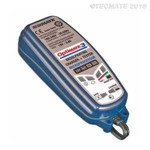 Φορτιστής-συντηρητής μπαταρίας Optimate 3 (SAE)