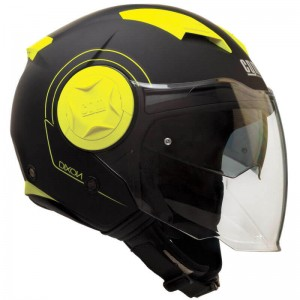 CGM 129S Dixon μαύρο-κίτρινο fluo ματ