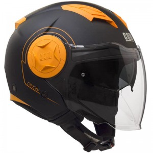 CGM 129S Dixon μαύρο-πορτοκαλί fluo ματ