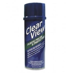 Σπρέυ γυαλιστικό και προστατευτικό για διάφανα πλαστικά Clear View 390 ml