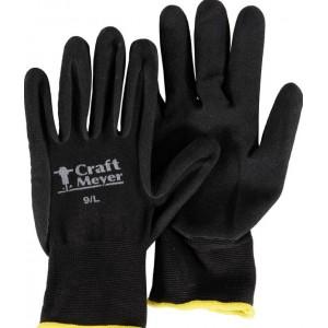 Γάντια εργασίας Craft-Meyer μαύρα