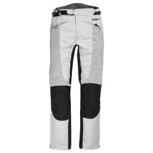 DIFI San Diego καλοκαιρινό παντελόνι ασημί-μαύρο