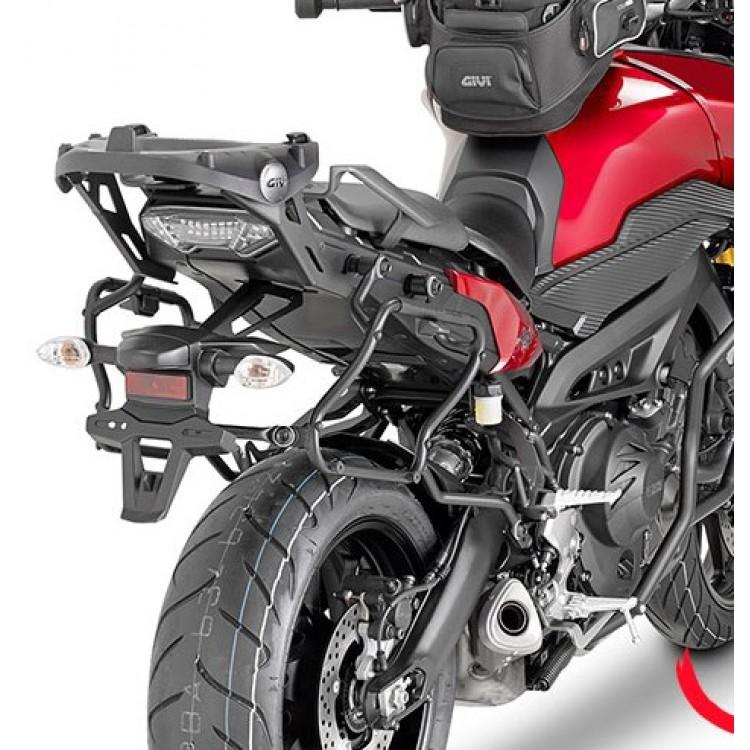 Βάσεις πλαϊνών βαλιτσών (κυρτές) rapid release Yamaha MT-09 Tracer -17