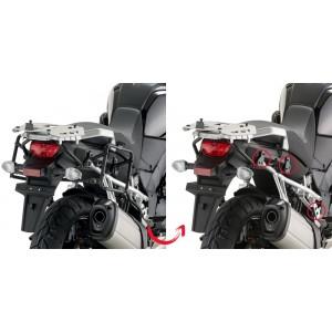 Βάσεις πλαϊνών βαλιτσών (ίσιες) GIVI rapid release Suzuki DL 1000 V-Strom 14-