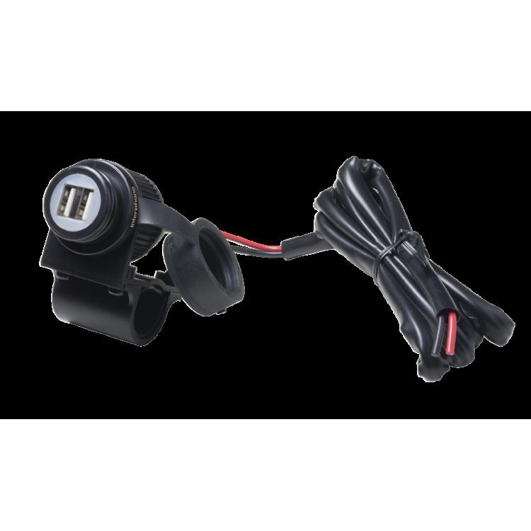 Παροχή ρεύματος διπλού USB Interphone με βάση universal