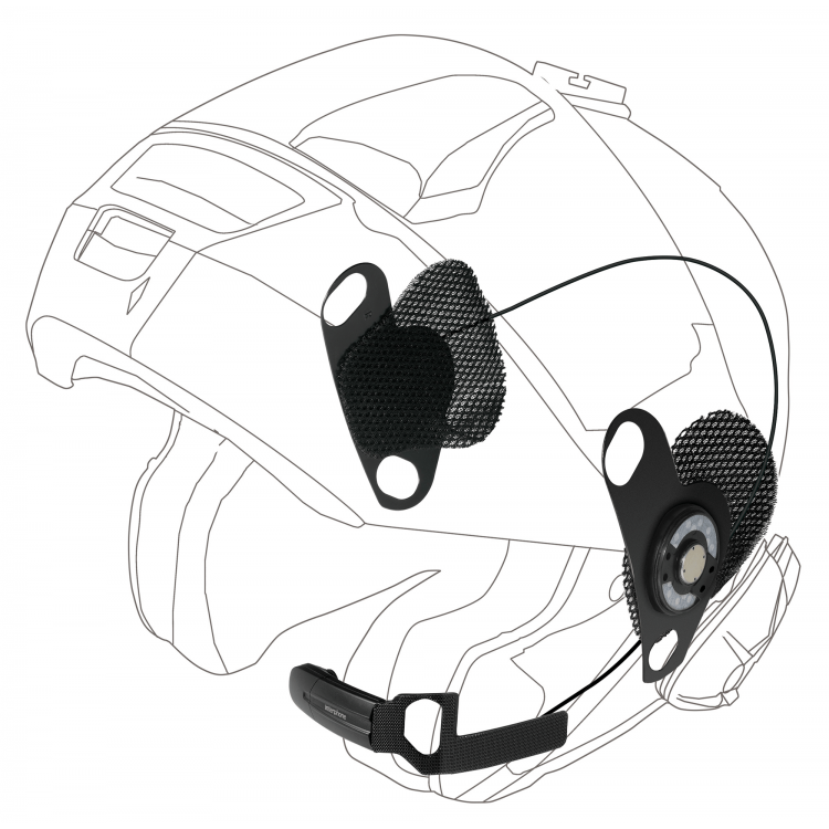 Interphone PRO SOUND ακουστικά Shoei Neotec/GT-Air για σειρές Urban/Sport/Tour/Link