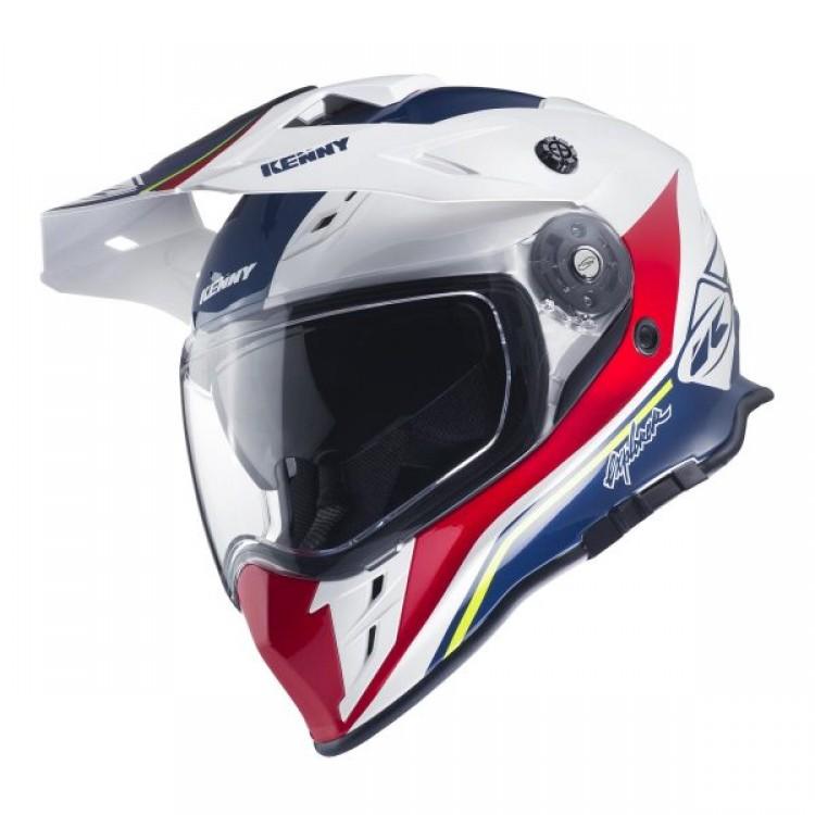 Kenny Explorer Dual Sport μπλε λευκό κόκκινο