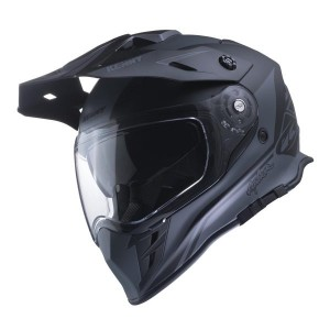 Kenny Explorer Dual Sport γκρι μαύρο ματ