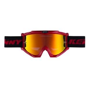 Μάσκα Enduro / MX Kenny Track+ κόκκινη