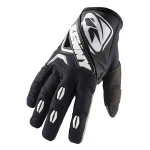 Γάντια Kenny Titanium Enduro / MX μαύρα λευκά