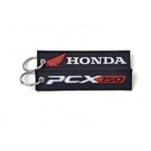 Μπρελόκ με λογότυπο Honda PCX 150 μαύρο-λευκό