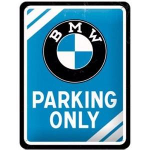 Πινακίδα BMW Parking Only