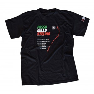 T-shirt -Ready to PASS- Stelvio