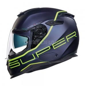 NEXX SX.100 Superspeed navy μπλε neon κίτρινο ματ
