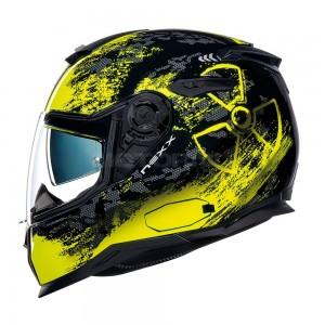 NEXX SX.100 Toxic μαύρο κίτρινο neon