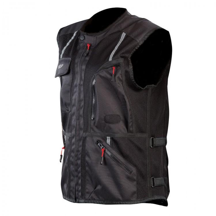 Καλοκαιρινό γιλέκο Nordcap Safety Vest μαύρο