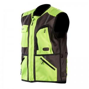 Καλοκαιρινό γιλέκο Nordcap Safety Vest κίτρινο fluo