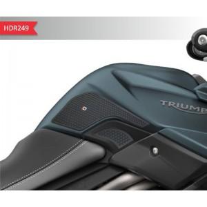 Πλαϊνά προστατευτικά ντεποζίτου έλξης One Design HDR Triumph Tiger 800/XC/XR μαύρα