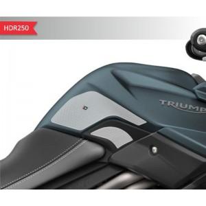 Πλαϊνά προστατευτικά ντεποζίτου έλξης One Design HDR Triumph Tiger 800/XC/XR διάφανα
