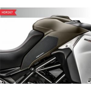 Πλαϊνά προστατευτικά ντεποζίτου έλξης One Design HDR Ducati Multistrada Enduro 1200/1260 μαύρα