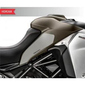Πλαϊνά προστατευτικά ντεποζίτου έλξης One Design HDR Ducati Multistrada Enduro 1200/1260 διάφανα