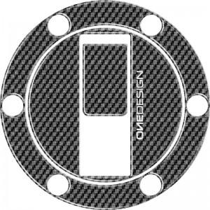 Κάλυμμα τάπας ντεποζίτου One Design Aprilia carbon look