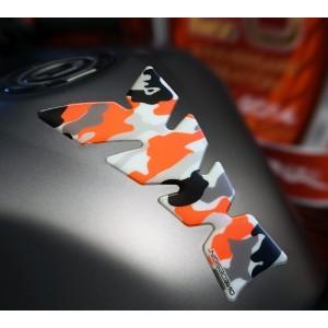 Tankpad One Design soft touch camo πορτοκαλί