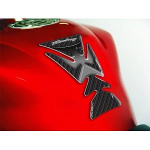 Tankpad One Design racing carbon look γκρι