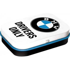 """Κουτί χαπιών με το λογότυπο BMW """"Drivers Only"""""""