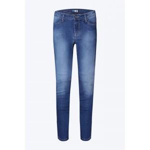 Παντελόνι τζιν μοτοσυκλέτας PMJ Skinny με TWARON γυναικείο ανοιχτό μπλε