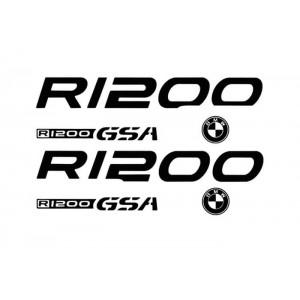 Σετ αυτοκόλλητα BMW R 1200 GS Adventure (χρώματα)