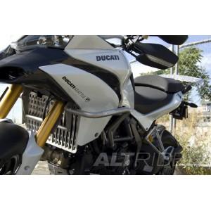 Προστατευτικά κάγκελα AltRider Ducati Multistrada 1200/S -14 ασημί