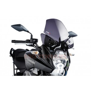 Ζελατίνα Puig Touring Kawasaki Versys 650 10-14 σκούρο φιμέ