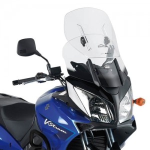 Ζελατίνα GIVI Airflow Suzuki DL 650/1000 V-Strom 04-11 διάφανη