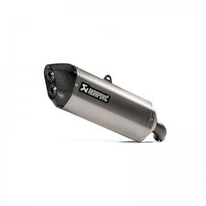 Τελικό εξάτμισης Akrapovic Suzuki DL 1000 V-Strom 14-16 τιτάνιο