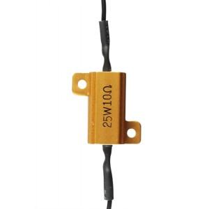 Αντίσταση Chaft για φλας led 25 Watt -10 Ohm