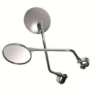 Καθρέπτης universal κλασικός Chaft χρώμιο