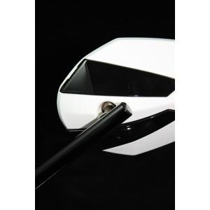 Καθρέπτης universal Chaft Crusty λευκός-μαύρος