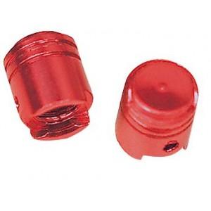 Τάπες βαλβίδας αέρα Chaft Piston σετ κόκκινες