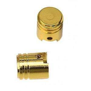 Τάπες βαλβίδας αέρα Chaft Piston σετ χρυσές