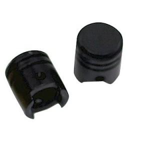 Τάπες βαλβίδας αέρα Chaft Piston σετ μαύρες