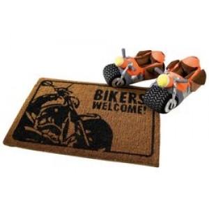 """Χαλάκι εισόδου """"Bikers Welcome"""""""