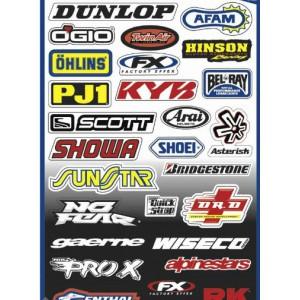 Αυτοκόλλητα sponsor sticker set 1