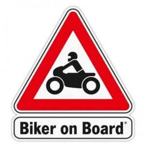 Αυτοκόλλητο Biker on Board
