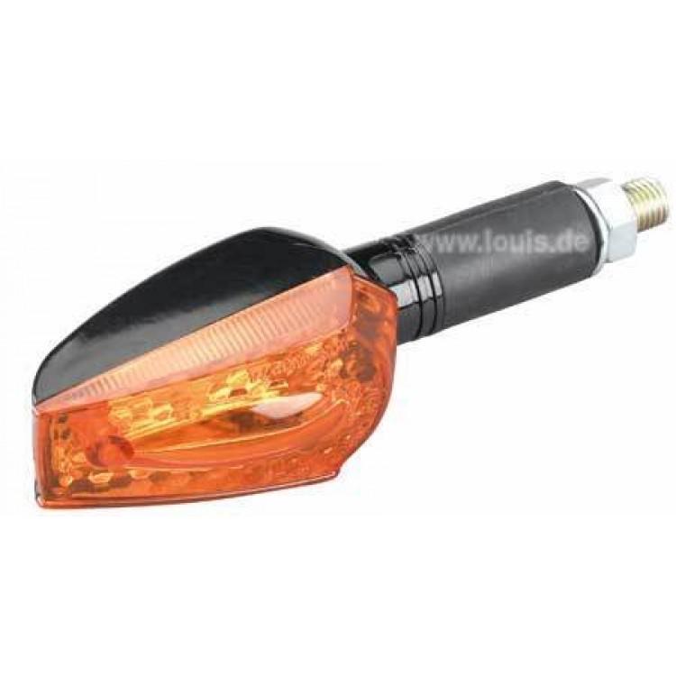 Φλας Universal mini με πορτοκαλί κρύσταλλο και μαύρη βάση 40mm