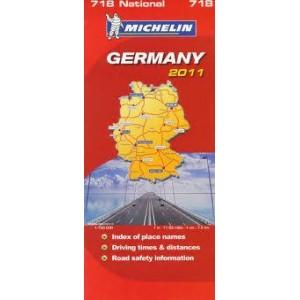 Χάρτης Γερμανίας Michelin road map