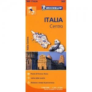 Χάρτης κεντρικής Ιταλίας Michelin road map 1:400.000