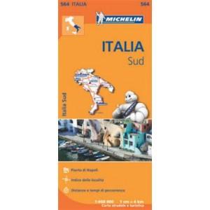 Χάρτης Νότιας Ιταλίας Michelin road map 1:400.000