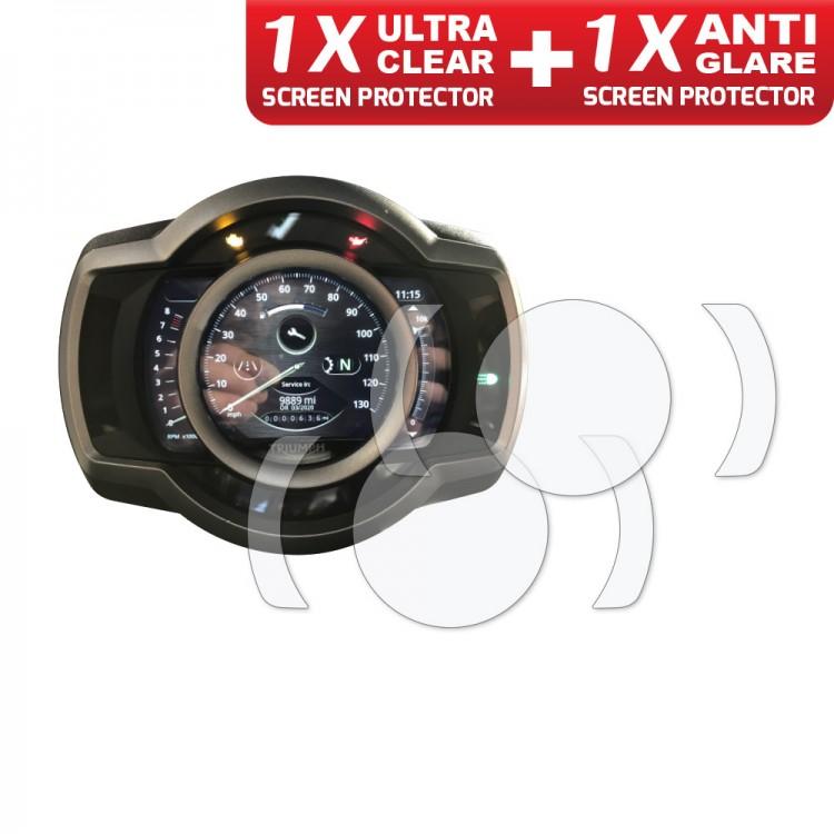 Φιλμ προστασίας TFT οθόνης Triumph Scrambler 1200 XC/XE (σετ)